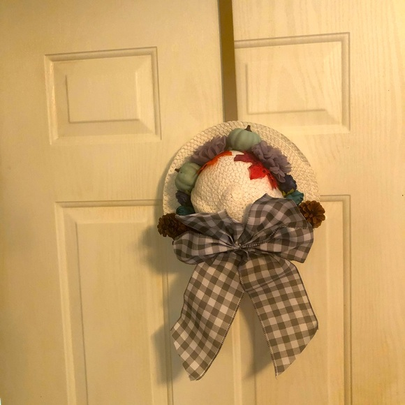 Handcrafted Hat Wreath